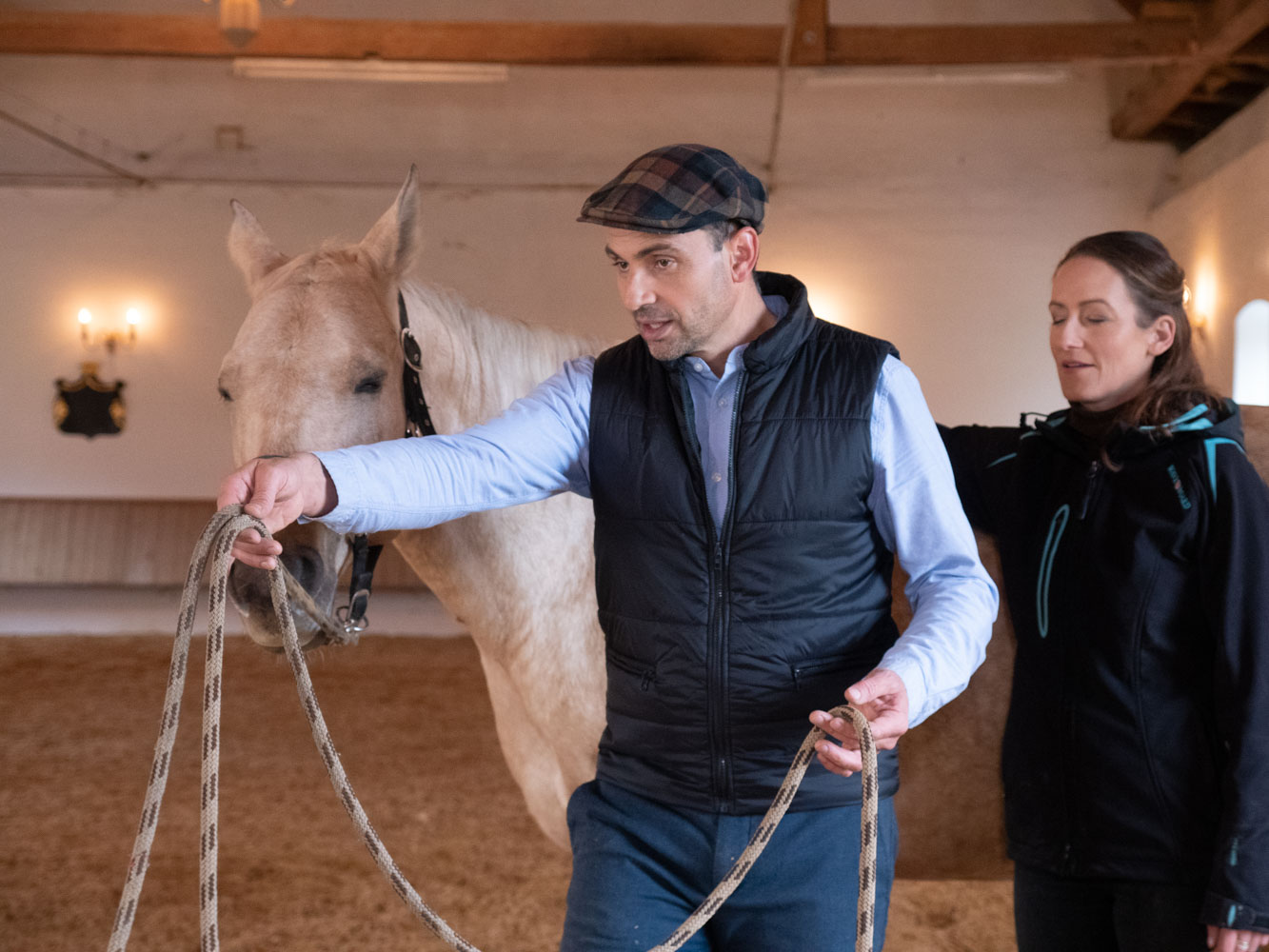 Pferdegestütztes Leadership Coaching